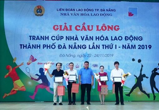 Khai mạc Giải cầu lông tranh Cúp Nhà Văn hóa Lao động lần thứ I