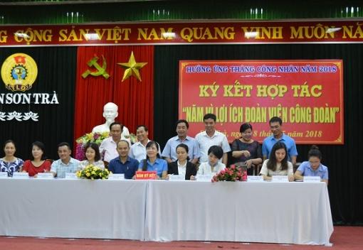 Sơn Trà: ký kết thoả thuận hợp tác với các doanh nghiệp