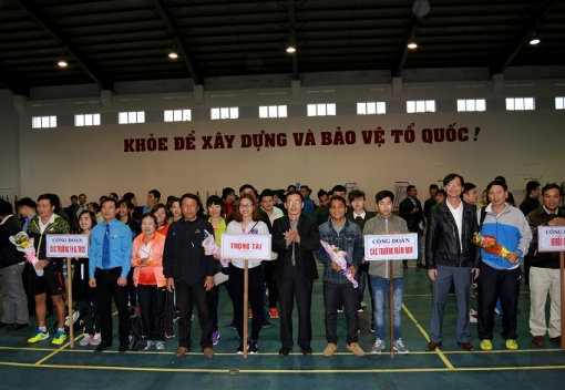 Hội thao CNVCLĐ quận Thanh Khê năm 2017
