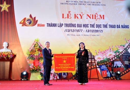 Lễ kỷ niệm 40 năm thành lập Trường Đại học Thể dục Thể thao Đà Nẵng