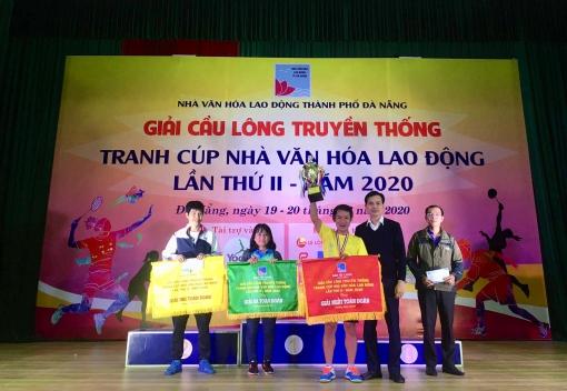 Giải cầu lông truyền thống tranh cúp Nhà Văn hóa Lao động lần thứ II