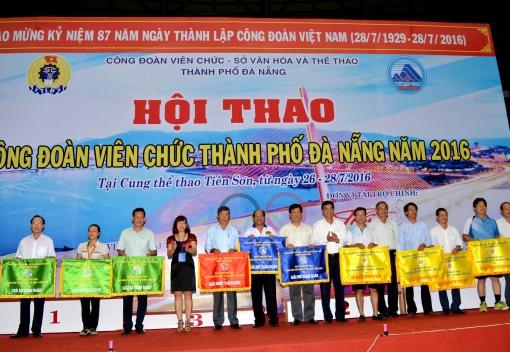 Hội thao Công đoàn Viên chức thành phố Đà Nẵng năm 2016