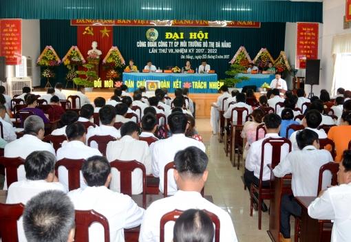 Công đoàn Công ty CP Môi trường Đô thị Đà Nẵng Đại hội lần thứ VII