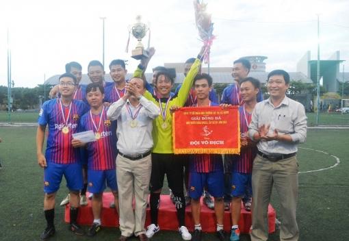 Công ty CP Môi trường Đô thị Đà Nẵng: Bế mạc giải bóng đá mini