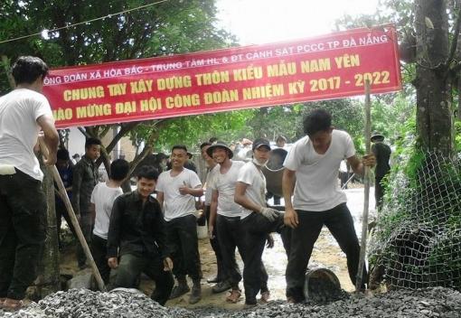 Công đoàn cơ quan xã Hòa Bắc đẩy mạnh hoạt động xã hội từ thiện