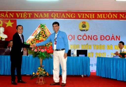Công đoàn Trường Đại học Kiến Trúc Đà Nẵng Đại hội Đại biểu lần thứ IV