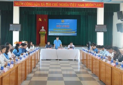 Sơ kết 01 năm thực hiện Hướng dẫn 704/HD-TLĐ của Tổng Liên đoàn Lao động Việt Nam.