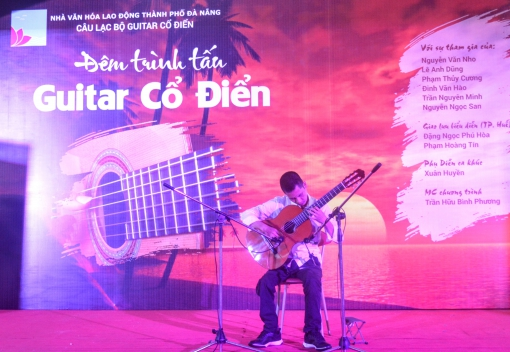 Nhà Văn hóa Lao động thành phố tổ chức đêm trình tấu guitar cổ điển