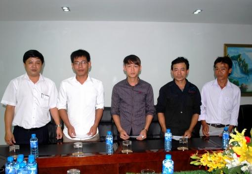 Liên đoàn Lao động thành phố Đà Nẵng: Thăm, tặng quà CNLĐ bị tai nạn lao động