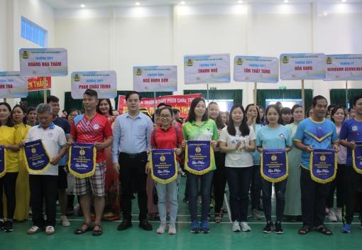 Ngành Giáo dục: Tổ chức Giải thể thao Nhà giáo, người lao động