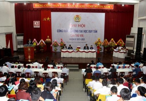 Công đoàn Trường Đại học Duy Tân: Đại hội Đại biểu lần thứ VIII
