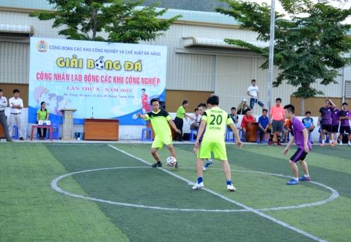 Khai mạc Giải bóng đá Mini CNLĐ Công đoàn các Khu công nghiệp & Chế xuất Đà Nẵng lần thứ  X  năm 2016