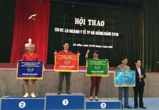 Hội thao CNVCLĐ ngành Y tế TP Đà Nẵng năm 2016