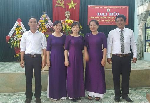 Hoà Vang: Đại hội Công đoàn Trường TH Hòa Tiến 2 lần thứ VII