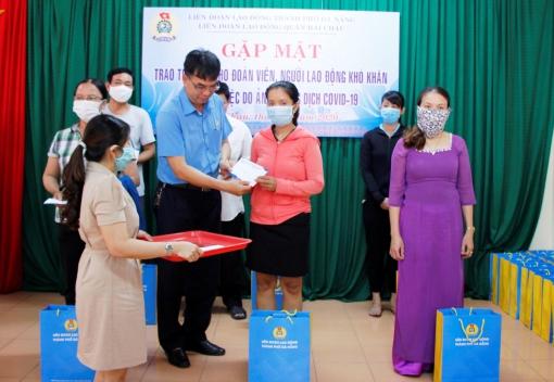 Hải Châu: trao 269 suất trợ cấp cho đoàn viên, CNVCLĐ