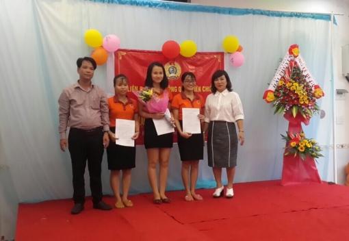 Liên Chiểu: Thành lập CĐCS Trường Mầm non Sao Mai