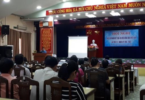 Thanh Khê:  Hội nghị báo cáo nhanh kết quả Đại hội XII Công đoàn Việt Nam