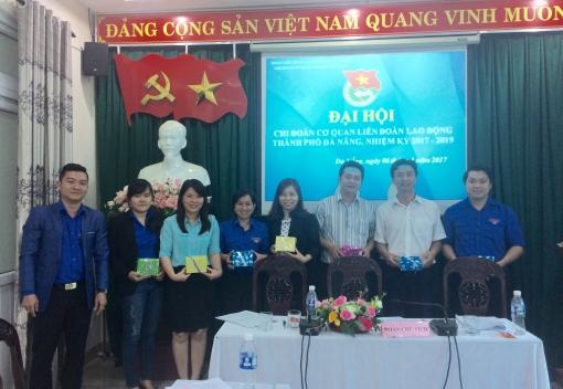 Đại hội Chi đoàn Cơ quan Liên đoàn Lao động thành phố Đà Nẵng