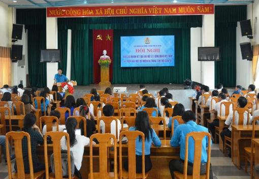 Báo cáo nhanh kết quả Đại hội XII Công đoàn Việt Nam