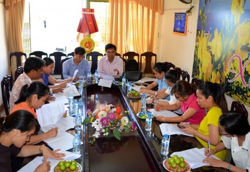 Liên đoàn Lao động quận Liên Chiểu: Tập huấn ký kết Thỏa ước lao động tập thể