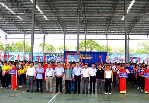 Công đoàn Trường Đại học Thể dục thể thao Đà Nẵng tổ chức hội thao cán bộ, viên chức, lao động năm 2017