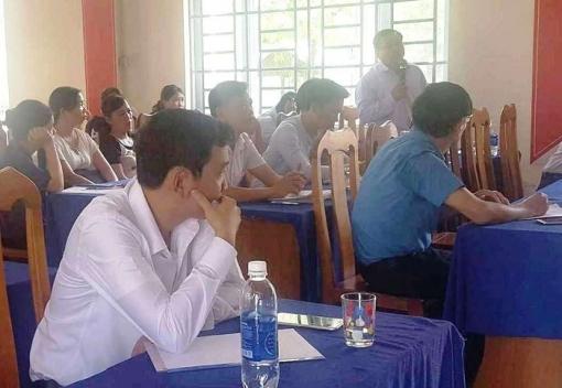 Hòa Vang: tập huấn, tư vấn pháp luật trong Tháng Công nhân