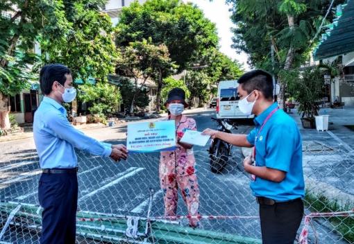Hải Châu: Hỗ trợ khẩn cấp cho đoàn viên, người lao động có hoàn cảnh khó khăn