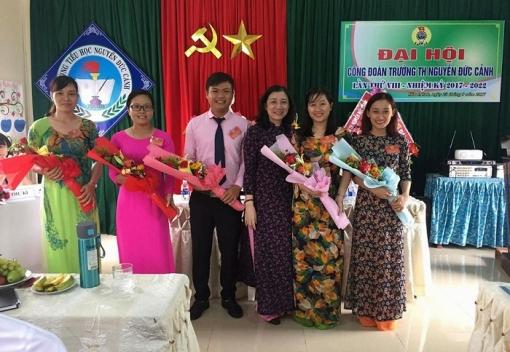Đại hội lần thứ VIII Công đoàn Trường Tiểu học Nguyễn Đức Cảnh