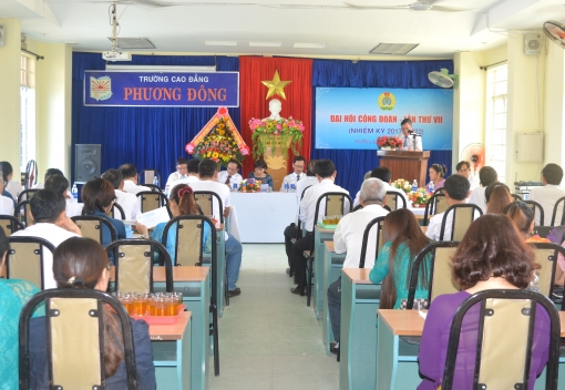 Công đoàn Trường Cao đẳng Phương Đông: Đại hội lần thứ VII