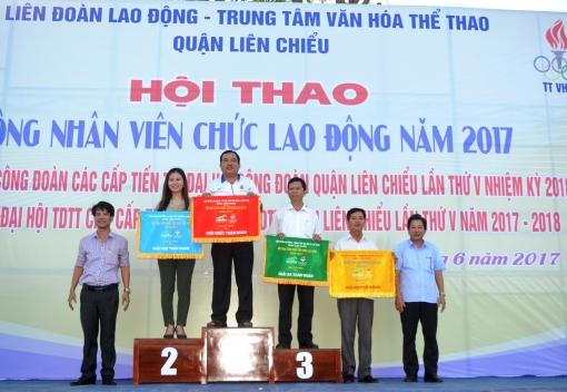 Hội thao CNVCLĐ quận Liên Chiểu năm 2017