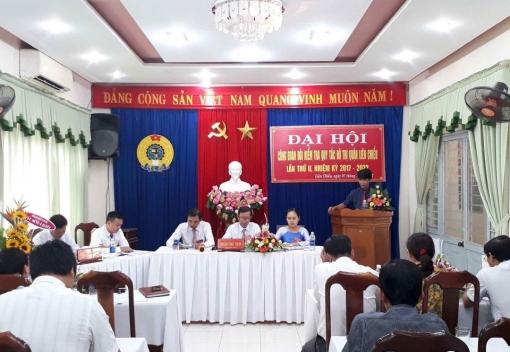 Đội Kiểm tra Quy tắc đô thị quận Liên Chiểu: Đại hội Công đoàn lần thứ II