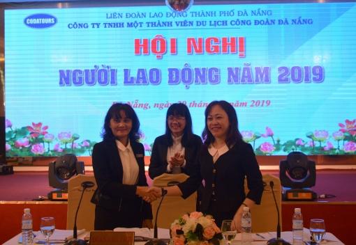 Công ty TNHH MTV Du lịch Công đoàn Đà Nẵng: Hội nghị người lao động năm 2019