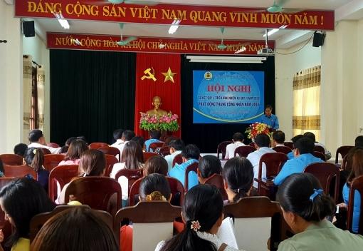 Hòa Vang: sơ kết hoạt động Công đoàn quý I và phát động Tháng Công nhân năm 2018