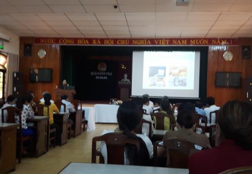 Sơn Trà: tuyên truyền công tác an toàn vệ sinh thực phẩm