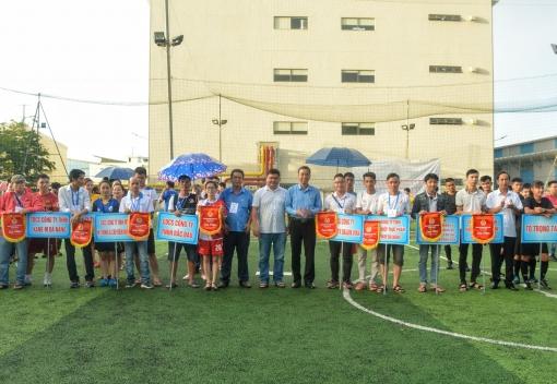 Khai mạc giải bóng đá truyền thống CNLĐ năm 2020