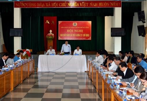 Hội nghị Ban Chấp hành Liên đoàn Lao động thành phố lần thứ 14