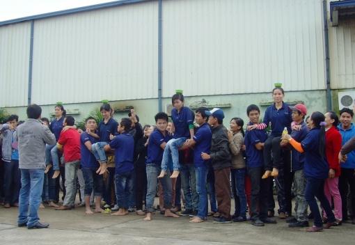 Công ty TNHH Công nghiệp Dearyang Việt Nam: chăm lo tốt đời sống người lao động