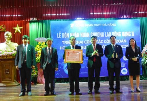 Công đoàn VNPT Đà Nẵng: Đón nhận Huân chương Lao động hạng Nhì