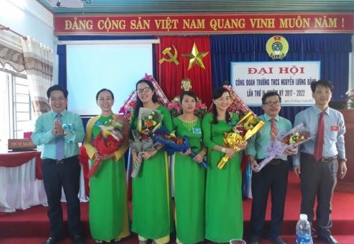  Liên Chiểu: Công đoàn Trường THCS Nguyễn Lương Bằng Đại hội lần thứ II
