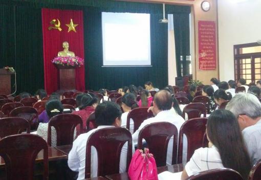 LĐLĐ huyện Hòa Vang tổ chức tập huấn cho cán bộ Công đoàn