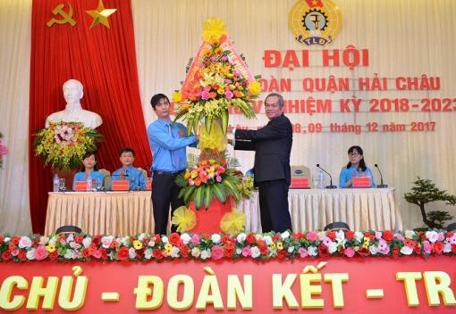 Đại hội Công đoàn quận Hải Châu lần thứ V