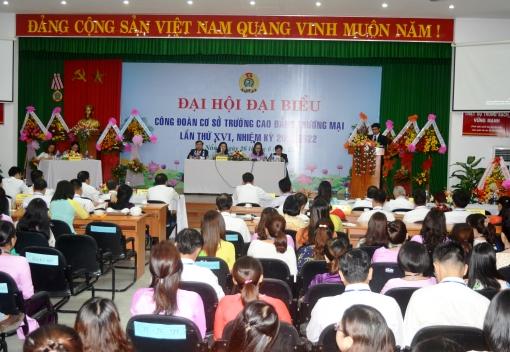 Đại hội đại biểu Công đoàn Trường Cao đẳng Thương mại lần thứ XVI