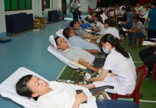 Ngày hội hiến máu tình nguyện CB, CCVC TP Đà Nẵng