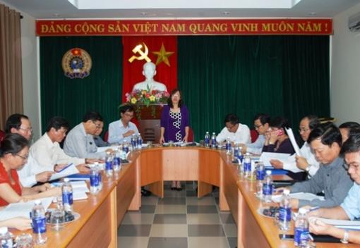 Hội nghị lần thứ 9 BCH Công đoàn Viên chức thành phố Đà Nẵng khóa V (Nhiệm kỳ 2013-2018)