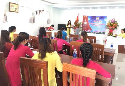 Liên Chiểu: Công đoàn Trường mầm non Mai Nhi tổ chức Đại hội lần thứ I
