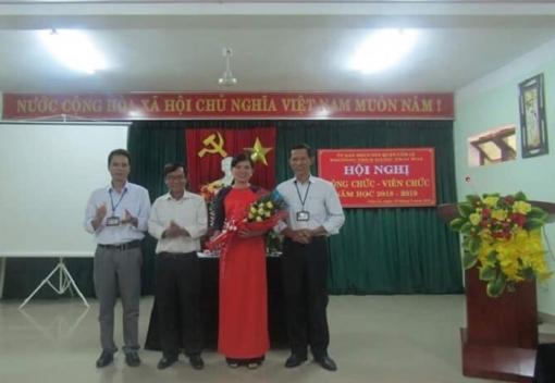 Trường Trung học cơ sở Đặng Thai Mai tổ chức Hội nghị CC,VC