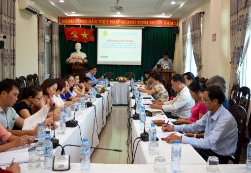 Liên đoàn Lao động TP Đà Nẵng tập huấn phương pháp kiểm tra, giám sát công tác ATVSTP & triển khai các văn bản về ATVSTP