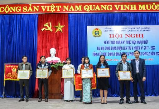 LĐLĐ quận Ngũ Hành Sơn tổ chức sơ kết nửa nhiệm kỳ (2017 – 2022)