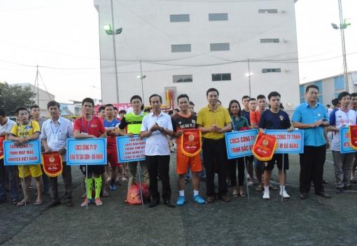Công đoàn Khu công nghệ cao & các KCN: Khai mạc giải bóng đá truyền thống CNVCLĐ