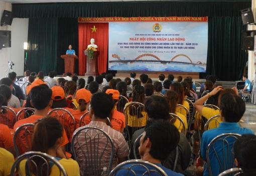 Ngày hội công nhân lao động khu công nghiệp & chế xuất